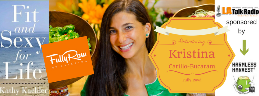 The vibrant Fully Raw Kristina Carillo-Bucaram tells us all how we can add eating raw easily.
