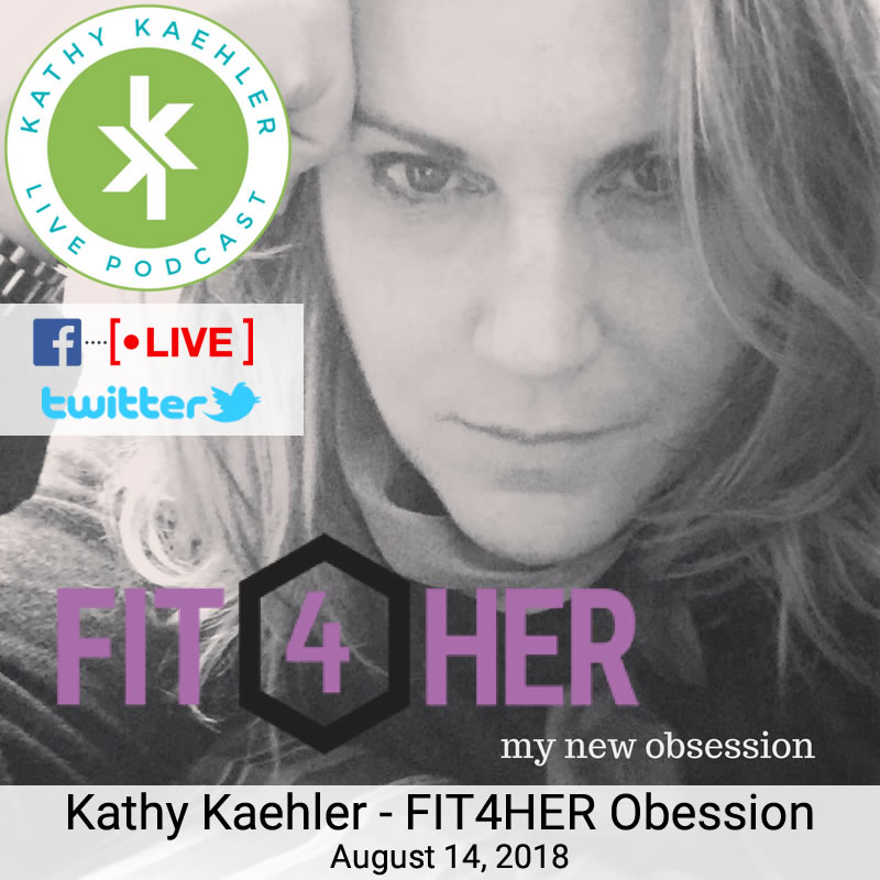 Kathy Kaehler One On One with You - Facebook and Twitter Live